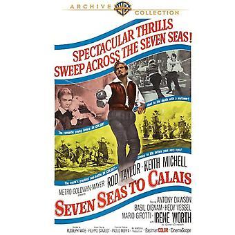 Siete mares para importar de Estados Unidos [DVD] (1962) de Calais