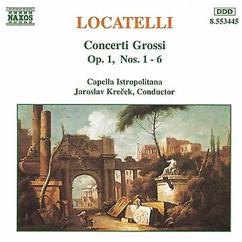 P. Locatelli – Locatelli: Concerti Grossi Op. 1 nr 1-6 [CD] USA import