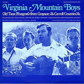 Virginia Mountain Boys - Vol. 3-Virginia Mountain Boys: Old Time Bluegrass [CD] USA import