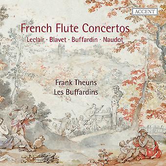 LeClair, J. / Naudot, J. / Corrette, M. - fransk fløjte koncerter [CD] USA importerer