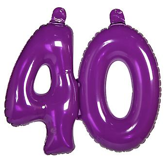 Inflatable decoration number 40 digit numbers