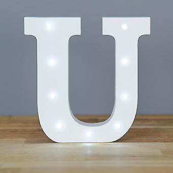 LED letter - Yesbox lights Letter U