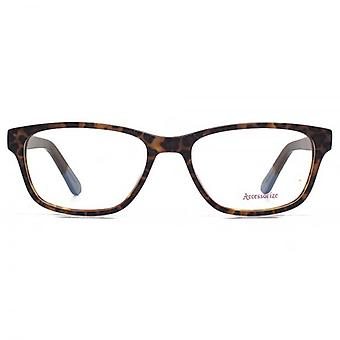 Accessorize Square Glasses In Tortoiseshell