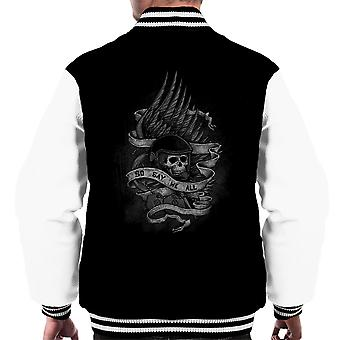 Admiral Adama Battlestar Galactica So Say We All Men's Varsity Jacket