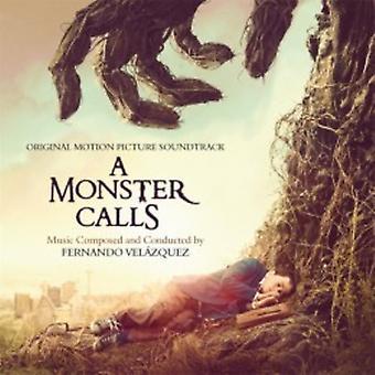 Fernando Velazquez - A Monster opkald - soundtracket [CD] USA importerer