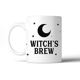Witch's Brew Pattern Gift Coffee Mug  11 oz Funny Ceramic Mug White