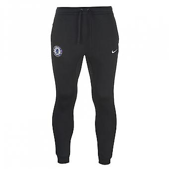2017-2018 Chelsea Nike Core Fleece broek (Navy)