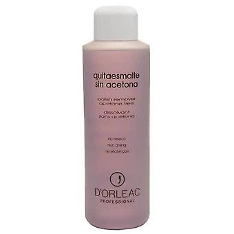 D'Orleac Acetone polish remover No 1L (Woman , Makeup , Nails , Nail polish remover)