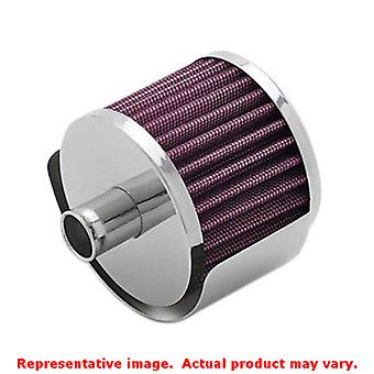 K&N Universal Filter - Crankcase Vent Filters 62-1495 None Fits:UNIVERSAL 0 - 0