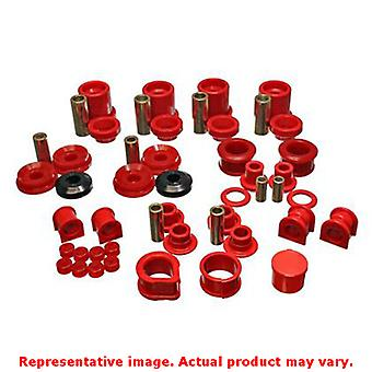 Energy Suspension 7.18105R Red Energy Suspension Hyper-Flex System Fits:NISSAN