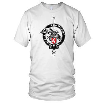 Frans Commando 4 Commando Entrainement Mens T Shirt