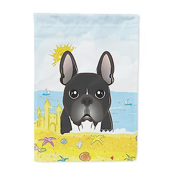 Carolines skatter BB2095GF fransk Bulldog Beach flagg sommerhagen størrelse