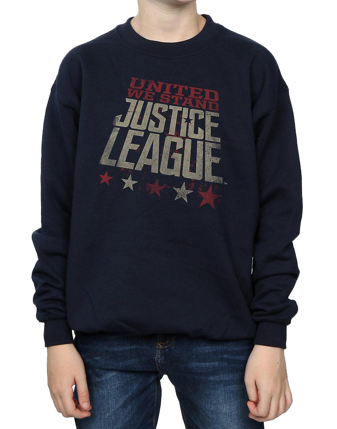 DC Comics pojkar Justice League film enade vi stå Sweatshirt