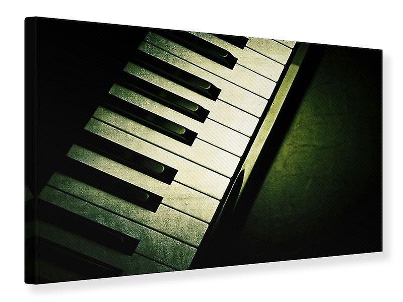 Toile impression proche place Piano