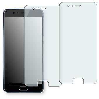Huawei P10 plus screen protector - Golebo crystal-clear protector (deliberately smaller than the display, as this is arched)