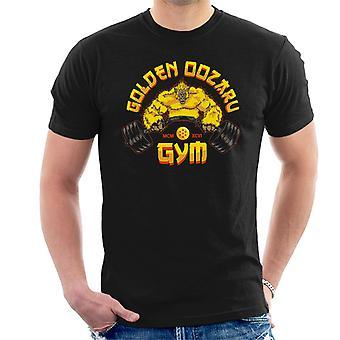 Dragon Ball Z Golden Oozaru Gym Men's T-Shirt