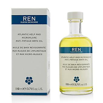 Ren Atlantic Kelp And Microalgae Anti-Fatigue Bath Oil - 110ml/3.71oz