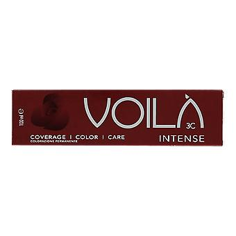 Intercosmo Voila Intense Med.Brown Int.Mahogany 4.55 Permanent Hair Colour 100ml