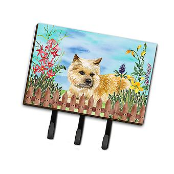 Carolines Treasures  CK1252TH68 Cairn Terrier Spring Leash or Key Holder