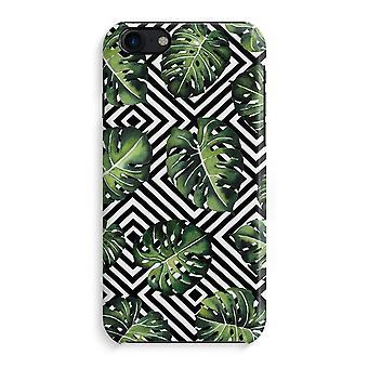 iPhone 7 fuld Print sag - geometriske jungle