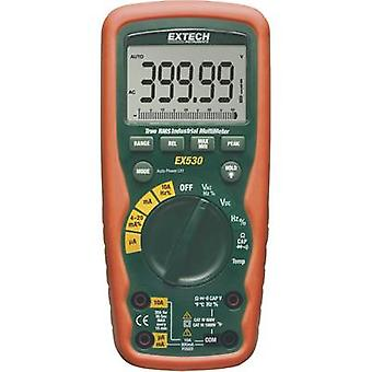 Handheld multimeter Digital Extech EX530 Calibrated to: Manufacturer's standards (no certificate) Waterproof (IP67) CAT