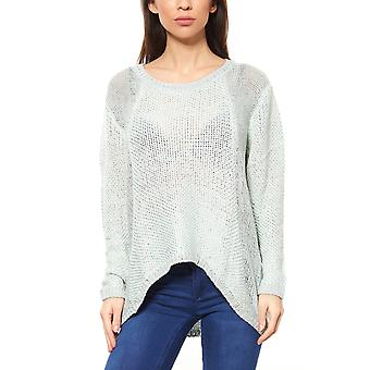 B.C.. best connections ladies knitted jumper blue