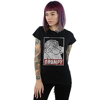 Disney Women's Snow White Grumpy Dwarf Poster T-Shirt
