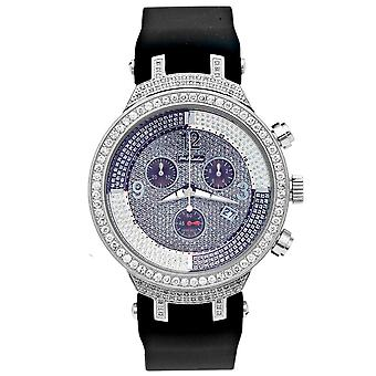 Joe Rodeo diamond men's watch - MASTER silver 2.65 ctw