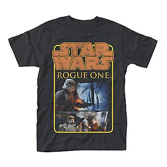 Star Wars Rogue una insignia de soldado de asalto cartel t-shirt
