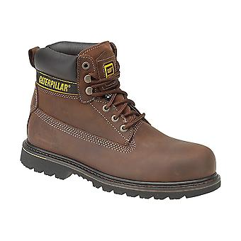 Caterpillar Mens Holton Steel Toe & Midsole Safety Boot S3
