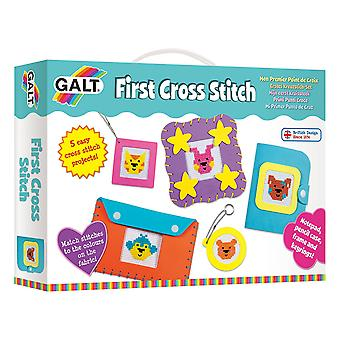 Galt Toys First Cross Stitch  Embroidery Craft Kit