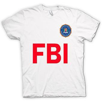Mens T-shirt - FBI USA - Police