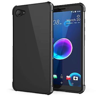 HTC Desire 12 alfa TPU Gel - svart
