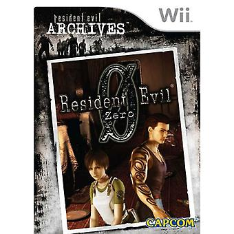 Resident Evil Archives noll (Wii)