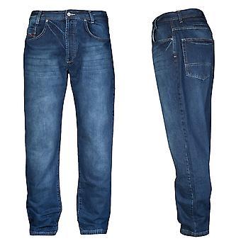 Amstaff джинсы Gecco midblue