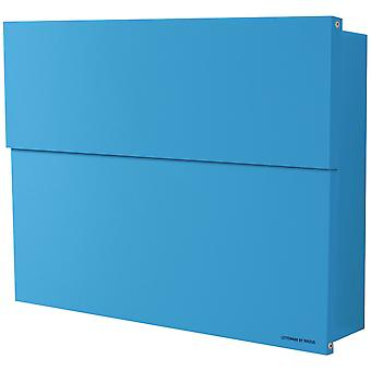 RADIUS letterbox Letterman XXL 2 blue with concealed compartment of newspaper 562n