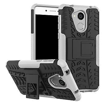 Hybrid fall 2 bit SWL utomhus vit för Huawei honor 6C pouch case skal skydd