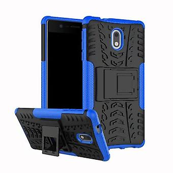 Hybrid case 2 piece SWL outdoor blue for Nokia 2 accessories bag case cover protection