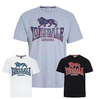 Lonsdale mens T-Shirt stone