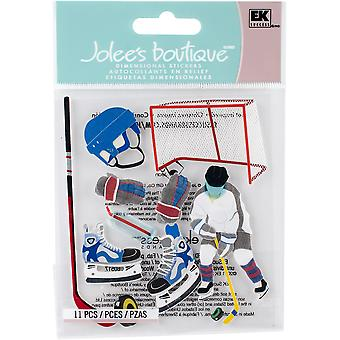 Jolee's Boutique Dimensional Stickers-Hockey