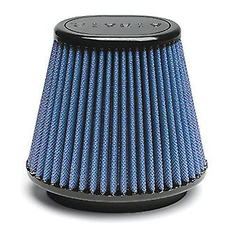 Airaid 723-500 Universal Clamp-On Air Filter: ovale affusolata; 5 in (127 mm) flangia ID; in 5,625 (143 mm) altezza; 6.75 x