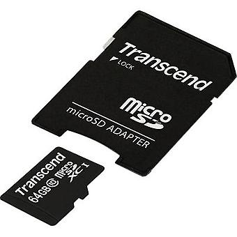 Transcend Premium microSDXC card 64 GB Class 10, UHS-I incl. SD adapter