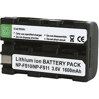 Camera battery Conrad energy replaces original battery NP-FS11 3.6 V