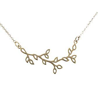 Gemshine Damen Halskette  925 Silber Lotus BlumeYOGA 45 cm