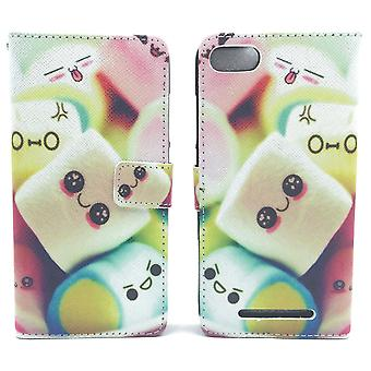 Mobile phone case pouch for mobile WIKO Lenny 3 marshmallows