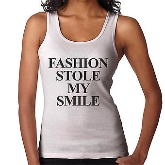 Fashion Stole My Smile Women's Vest