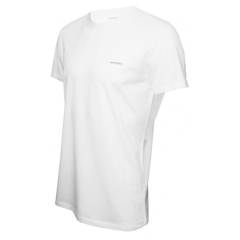 Diesel 3-Pack All-Timers Crew-Neck T-Shirts, White