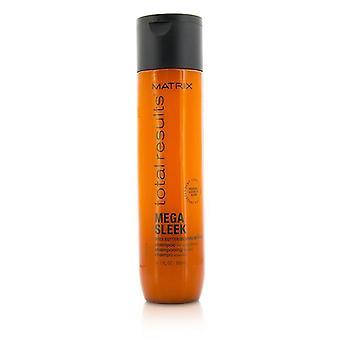 Macierz łącznych wyników Mega elegancka masło Shea szampon (do gładkości) - 300ml/10.1 oz