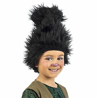 Troll Elves children wig black wig child GNOME