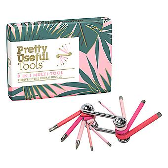 Pretty Useful Tools 9in1 Multi-Tool (Coral Reef)